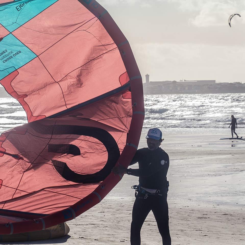 Kite-Surf-packing