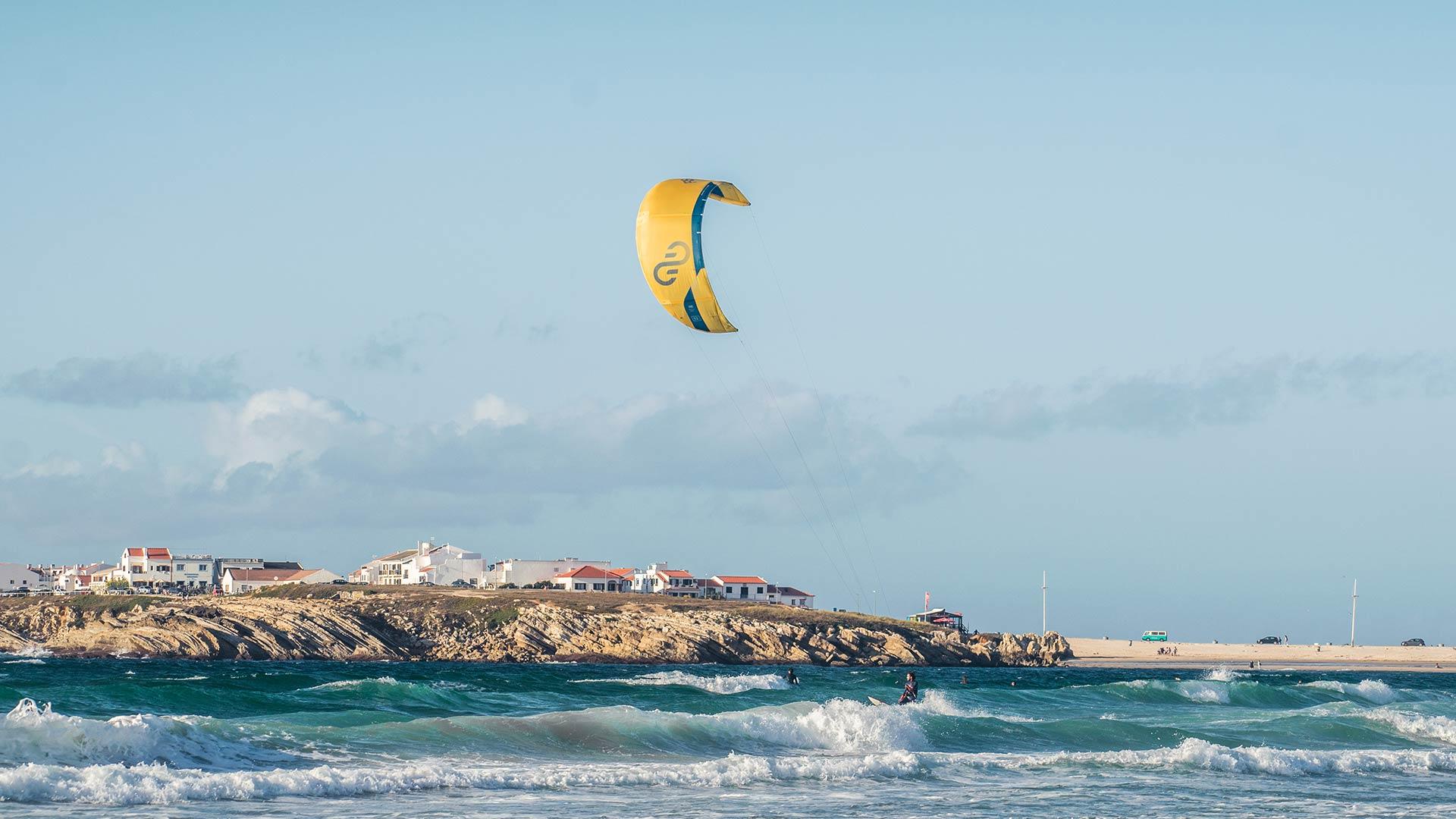 surfers lodge kite-surf activity